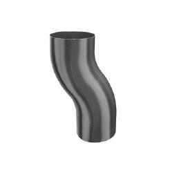 KJG koleno soklové 100 mm