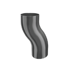 KJG koleno soklové 120 mm