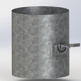 Ventilační turbína - klapka...